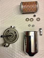 Harley Oil Filter Kit Panhead 1948-49 Tank Mount W/ Return Line OEM# 63800-48