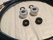 Harley 1930-48 Spark Plug Cable Kit w/ Hoods VL RL Knucklehead OEM# 1599-27 USA
