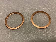 Harley  J JD 61 Manifold Inlet Intake Nipple Seals 1917-23 OEM# 1125-17 USA