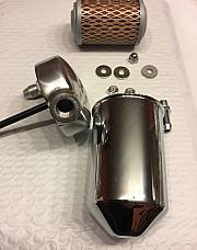 Harley Oil Filter Kit Panhead 1948 & 49 Rigid Tank Mount Cannister OEM# 63800-48