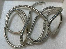Chrome Cable Covers 60 x 1/4 ID Harley Knucklehead Panhead, Indian, Schwinn