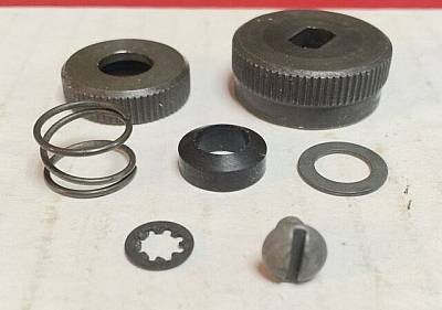 Harley 6205140 Fuel Gas Shut Off Knob Kit 4065 Knucklehead WLA WLC Parkerized