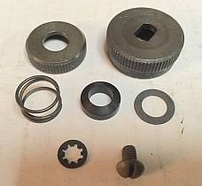 Harley 62051-40 Fuel Gas Shut Off Knob Kit 40-65 Knucklehead WLA WLC Parkerized