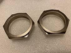 Harley  J JD 74 Manifold Inlet Intake Nuts Nickel 1923-29 OEM# 1115-23 USA