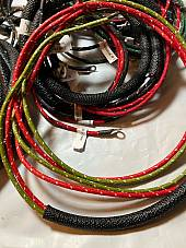 Harley 4735-47 Complete 1947 Servicar Wiring Harness Kit W/ Tail Lamp Wires USA