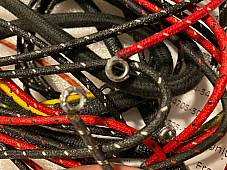 Harley 4736-31 Complete 1932-36 Servicar Wiring Harness Kit W/ Tail Lamp Wires