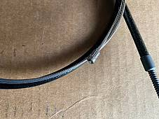 Harley 45150-49 Panhead Cloth Covered Front Brake Coil Cable 1949-50 Only