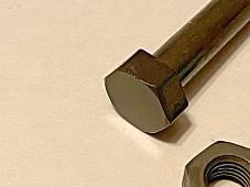 Harley B C Single & DL Rear Brake Arm Clamp Bolt Kit 1929-34 OEM# 4073-29A USA