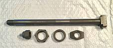 Harley VL Complete Parkerized Rear Axle Kit 1930-36 OEM# 3952-30