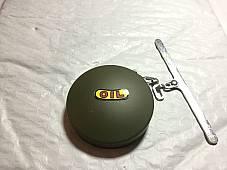 Harley Eaton Oil Cap OD Green WLA WLC w/ Chain 1941-45 3507-41A