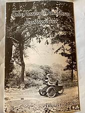 Harley Enthusiast Model Intro Issue 1927 Models Aug 1926 JD F