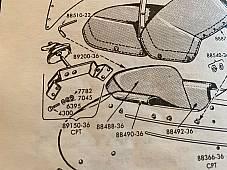 Harley Metal LE Sidecar Spare Tire Carrier Bolt Kit 1936-67 OEM# 072K USA