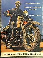 Harley WLA & XA Service Manual Mechanics Hand Book Color 134 Pages 1943