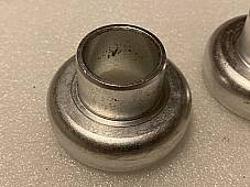 Harley DL RL WL WLA WLC 45 C Single Pea Shooter Neck Cups 1930-57 USA #2752-30