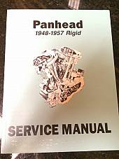 Harley EL FL FLH Service Manual 1948 to 1957 Panhead Rigid Hydra-Glide NEW