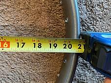 Harley JD Clincher Rear Wheel HD Rim 3 x 20 For 26 x 2.5 & 3 Tires 1928-29