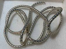 Chrome Cable Covers 60 x 5/16 ID Harley Knucklehead Panhead, Indian, Schwinn