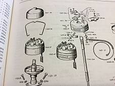 Harley 32593-47 Timer Adjusting Screw & Plate Kit EL FL UL WL XL K 1947-64