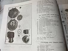 Harley 1909-1932 Parts Catalog Manual Strap Tank Single JD, VL DL RL