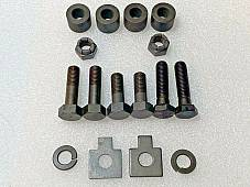 Harley Oil Tank Mounting Kit FL FLH Panhead 1958-1964 Duo-Glide Parkerized USA