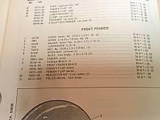 Harley 1951-78 Front Fender Mounting Kit Parkerized FL FLH Panhead Servi Mount