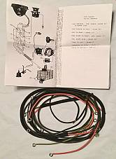 Harley 1926-28 Single Wiring Harness Pea Shooter A, B, C, AA BA USA