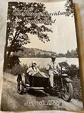 Harley Enthusiast Model Intro Issue 1928 Models Aug 1927 JD F