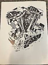 Harley FL FLH Parts Manual Book 1958 to 1968 Shovelhead Panhead Electra-Glide