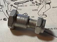 Harley 36921-52 Panhead Mousetrap Clutch Rod End Bolt & 7727 Flexloc 1952-64 USA