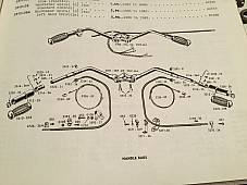 Harley Handlebar Plunger Internal Hardware VL RL UL Knucklehead 1931-48 USA
