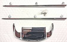 Harley FL FLH Shovelhead Front Fender Tip Trim Kit 1967-72 Electra-Glide