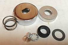 Harley 62051-40 Fuel Gas Shut Off Knob Kit 40-65 Knucklehead Panhead WL