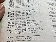 Harley B C Pea Shooter DL RL WL Servi Cylinder Head Studs 1926-50 OEM# 14-26 USA