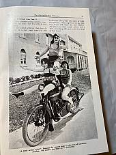 Harley Enthusiast Model Intro Issue For 1924 Models Aug. 1923 JD F Sidecar