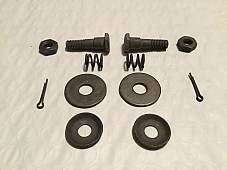 Harley 3813-29 DL RL WL 45 & Single Pea Shooter Primary Mount Kit 1929-40 USA