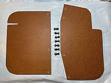 Harley 11315-30 11315-38 Leg Shield Leather Flaps WL WLA WLC Servi 1938-73