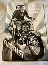 Harley Enthusiast Model Intro Issue 1936 Models Jan 1936 RL VL VLH Servicar