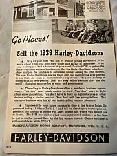 Harley Enthusiast Model Intro Issue 1939 Models Sept 1938 Knucklehead EL UL WL
