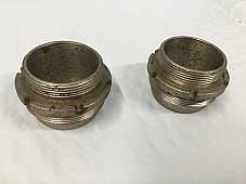 Harley JD Exhaust Nipples OEM# 1012-25 1925-1929 USA Made