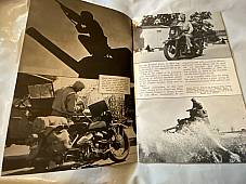 Harley Enthusiast Dec. 1942 War Maneuvers, WLA Ft. Knox, Ft. Roberts WW-II