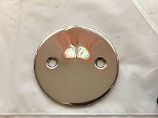 Harley 1949 Panhead Hydra-Glide Primary Inspection Cover Stainless