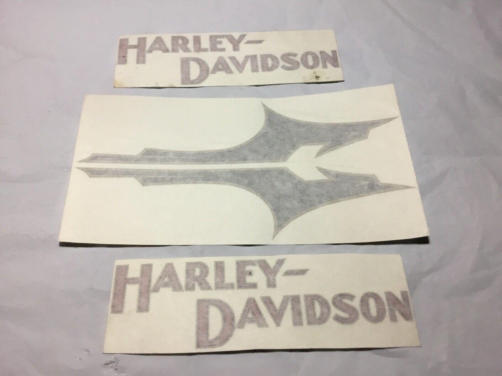 Harley-Davidson 5922-33 Fuel Gas Petrol Tank Decal VL RL