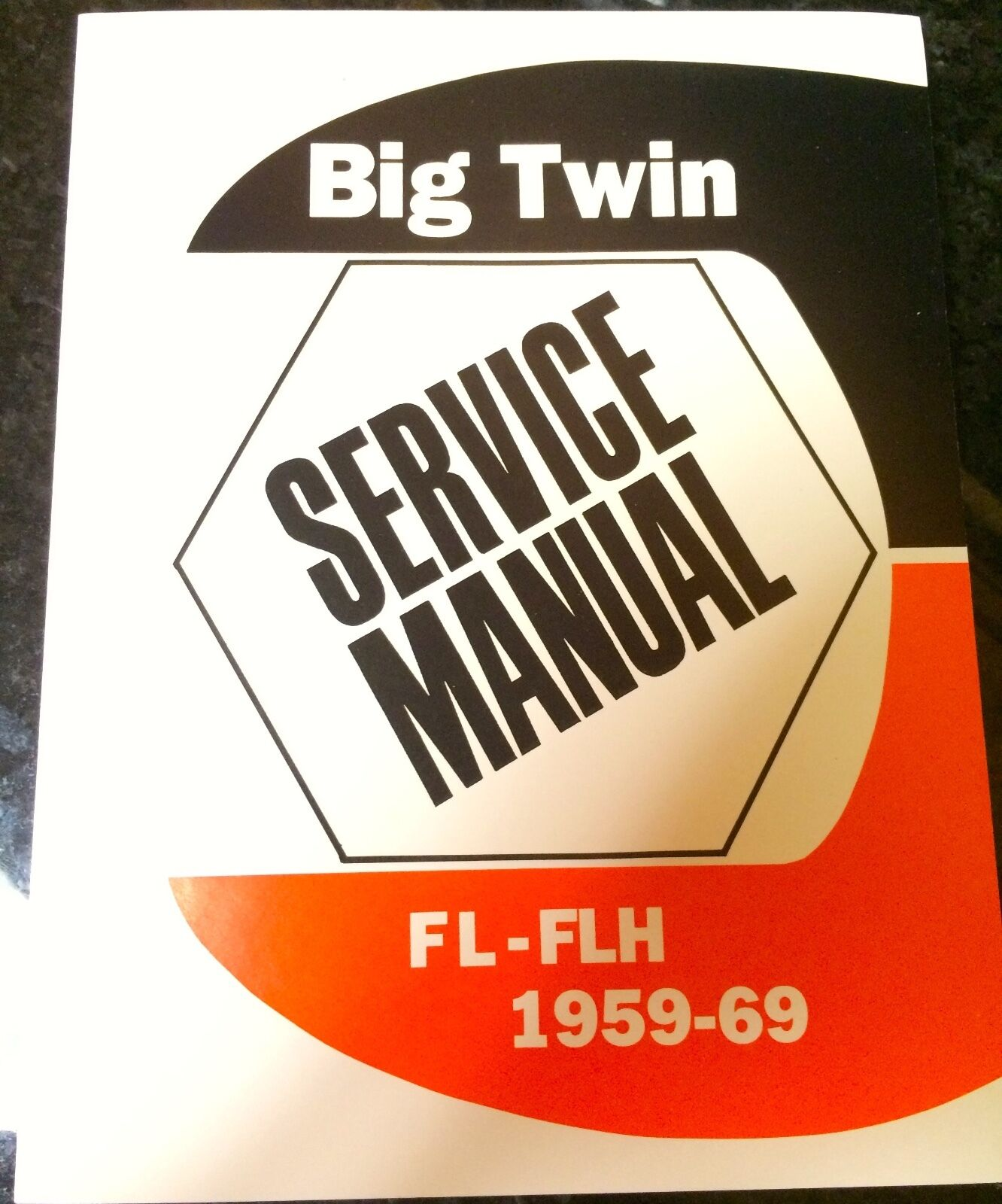 Harley Fl Flh Service Manual 1959 To 1969 Panhead