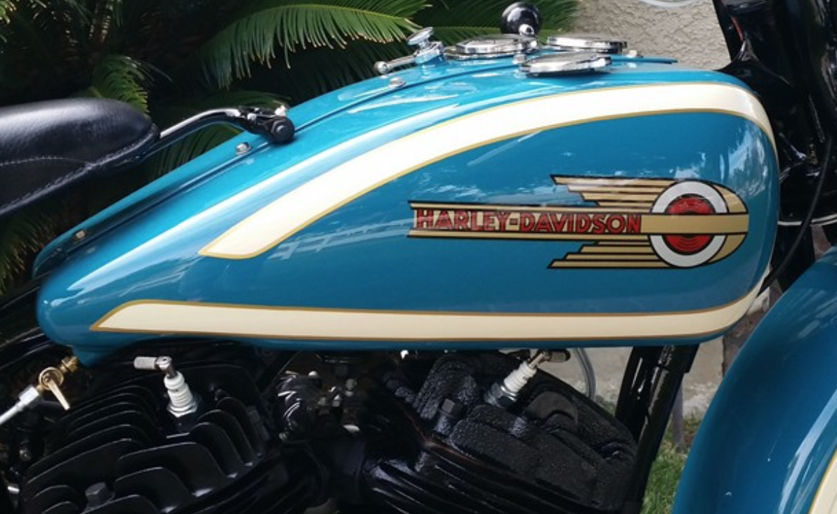 Harley-Davidson 5917-08 Fuel Gas Petrol Tank Decal JD VL
